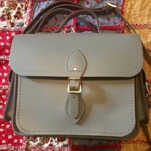 Cambridge Satchel Large Traveler leather bag